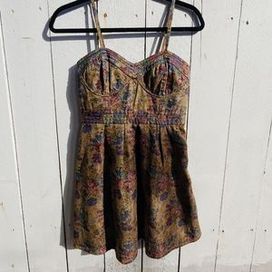 Free People mini floral Waverly dress size 2